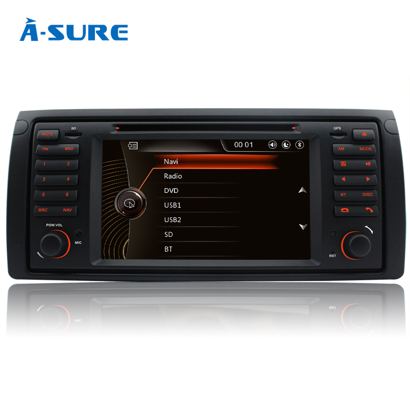 a sure car radio dvd wince gps for bmw e39 e53 m5 5 series. Black Bedroom Furniture Sets. Home Design Ideas