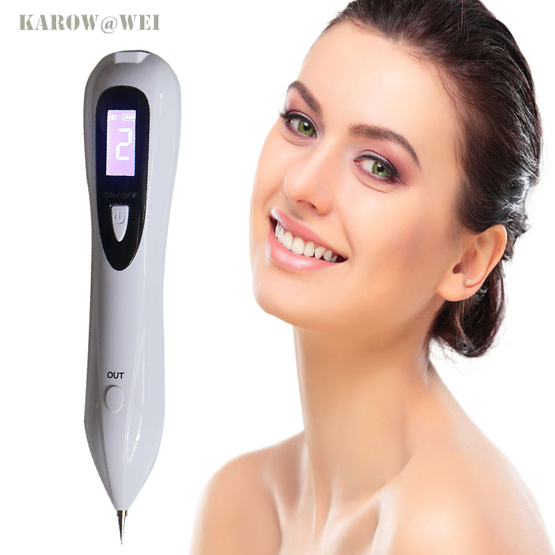Usb rechargeable lcd laser sweep freckle mole removal pen for Freckle tattoo cost