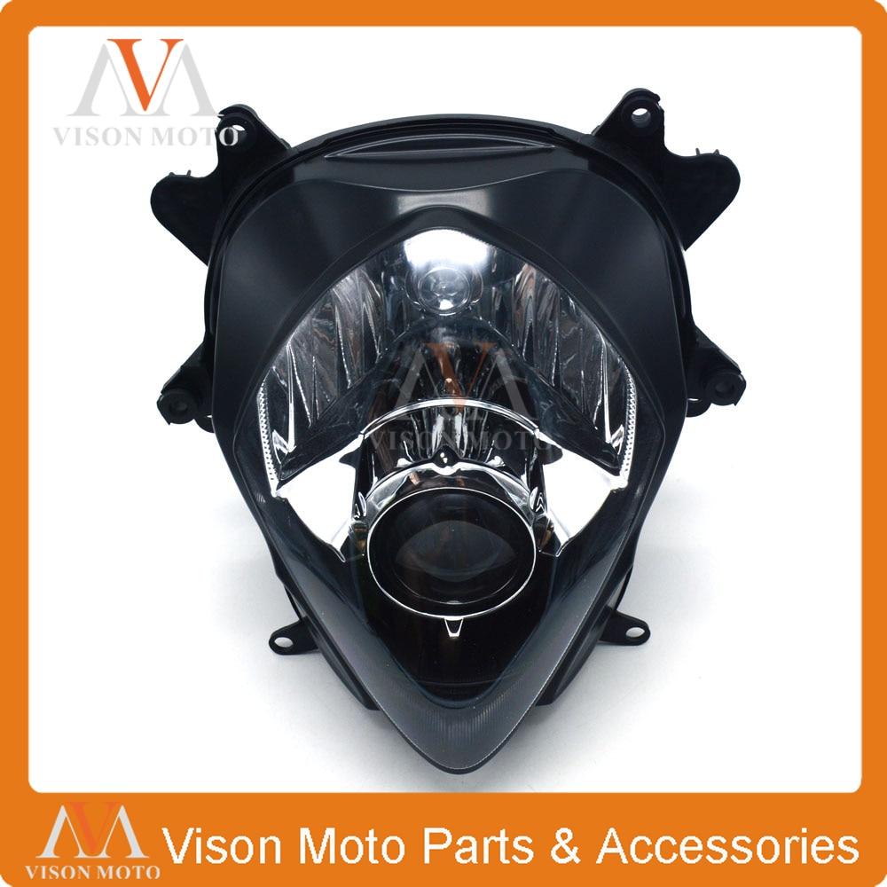 Motorcycle Front Light Headlight Head Lamp For SUZUKI GSXR1000 GSXR 1000 GSX1000R K7 2007 2008