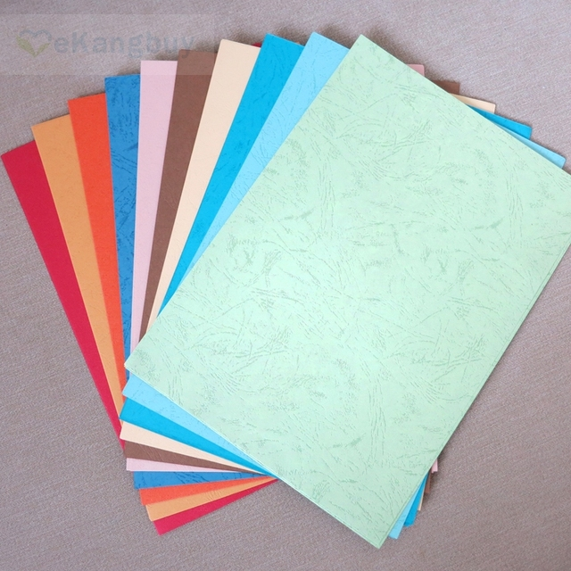 50sheets A4 Colorful Embossed Paper Dermatoglyph Paper Diy