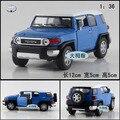 Подарок для ребенка 1 шт. 1:36 12.5 см Kinsmart Toyota FJ CRUISER FJ сплава автомобиля отступить модель дети мальчик детская игрушка