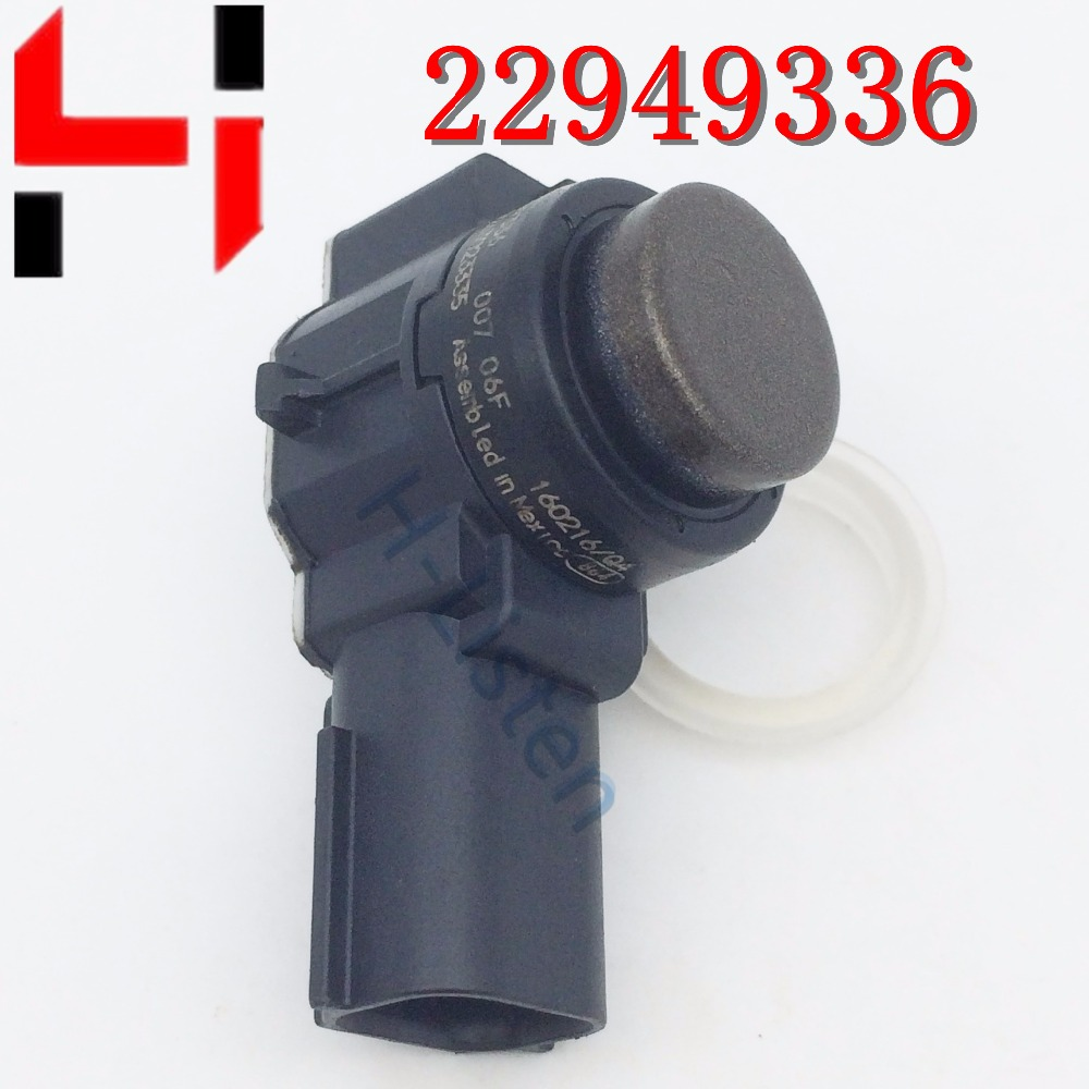 (4pcs) 100% Work Original Auto Parts PDC Parking Sensors 22949336 With Rings Bumper Reverse Assist For  0263023335