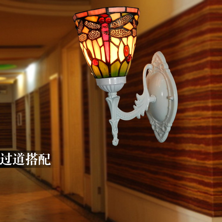 coachoutlets xjky  European retro creative living room wall lamp Dragonfly restaurant aisle  lights corridor hotel clubs Inn Premium Outlets Lights