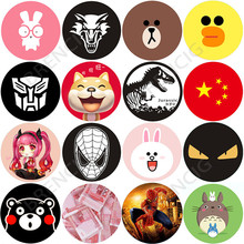 5pcs/lot 40x0.3mm Metal Plate Disk iron Sheet For Magnet Mobile Cell Phone Holder Magnetic Car Air Vent Mount Stand