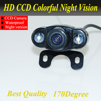 Waterproof Mini Wide Angle HD CCD Normal Image Car Rear View Camera With Mirror Image Convert