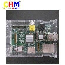 Adhesive Aluminum Heatsink Radiator Cooler Kit Pure Heat Set For Raspberry Pi Cooling New Heat Sink Fans 30X/10set #bp1610033