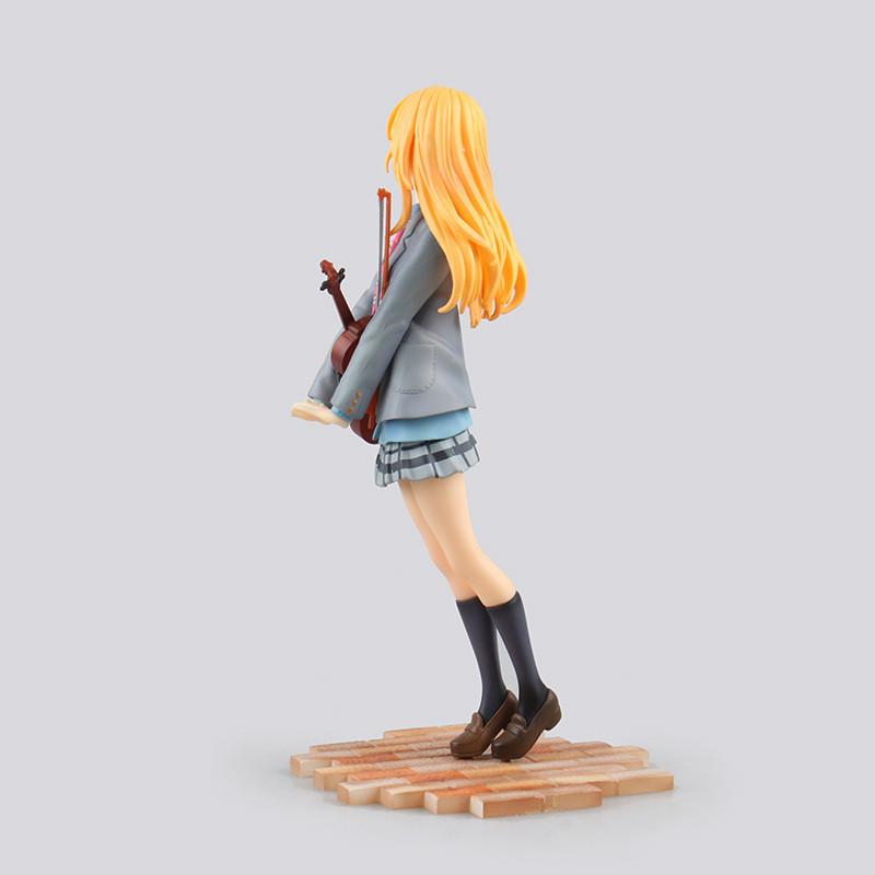 Shigatsu wa Kimi no Uso Miyazono Kaori Action Figure