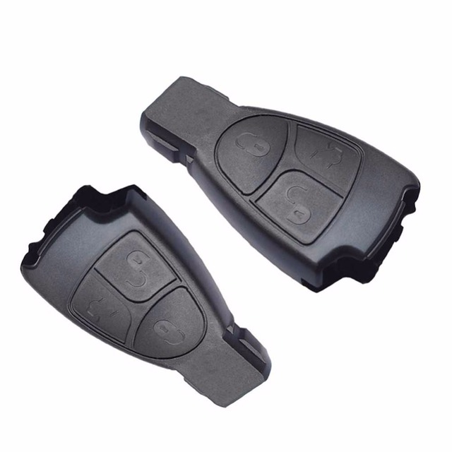 3 Buttons New Replacement Remote Key Fob Case For Mercedes Benz C E ML Class Alarm Cover car key shell w203 w211 w204 #278635