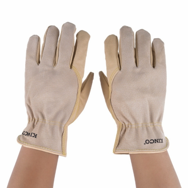作業手袋牛革男性作業溶接手袋安全保護ガーデンスポーツモト耐摩耗性手袋