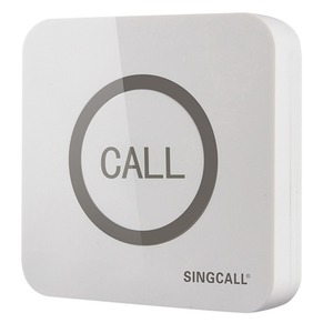 Image 3 - SINGCALL Wireless שיחת פעמון, סופר גדול Touchable יחיד כפתור עם פונקציה עמיד למים, APE520