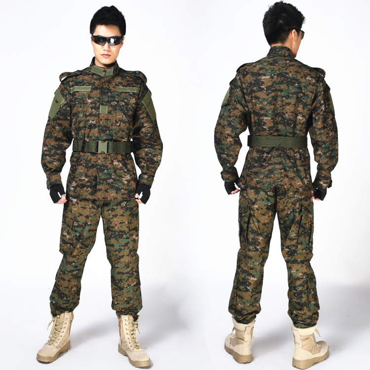9 Colors Military Army Aisoft Tactical Uniform Hunting Shirt + Pants ACU Camouflage Clothes Tactical CS Combat Uniform black typhon nomad camouflage military tactical acu airsoft combat uniform shirts pants