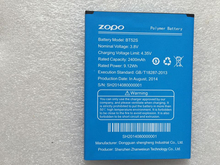 Original ZOPO ZP520 2400mah Battery Li-ion replacement Zopo c5 battery for ZP520+ android phone