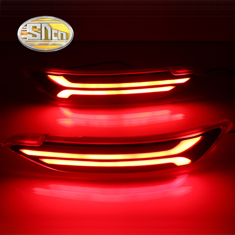 SNCN Multi-function LED Reflector Lamp Rear Fog Lamp Bumper Light Brake Light Turn Signal Light For Hyundai Tucson 2015 2016