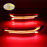 SNCN Multi Function LED Reflector Lamp Rear Fog Lamp Bumper Light Brake Light Turn Signal Light