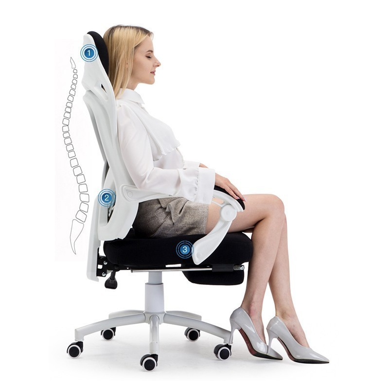 Shipping Office Poltrona Boss Esports Silla Gamer Gaming Breathable Cushion Lacework Chair With Footrest Can Lie Ergonomics