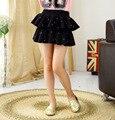 Девушки Весна Лето Новый детская Одежда Корейских Юбки Черный