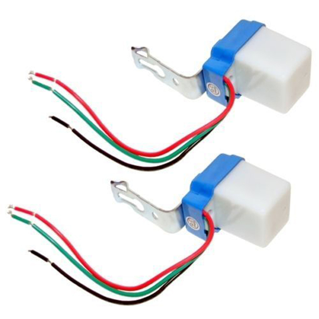Mini Twilight Dusk Sensor Switch 12V 10A Outdoor Night Light Sensor Switch  For Led Lamp Sensor