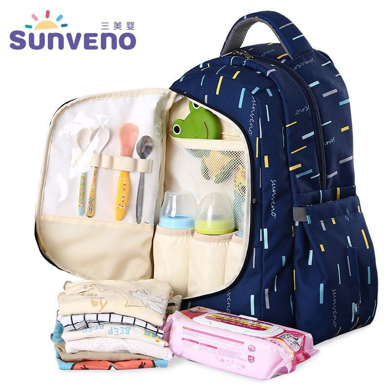 Baby Diaper Bag Large Capacity Baby Nappy Bag Backpack Maternity Bags Baby Care Changing Bag for Stroller Baby Care все цены