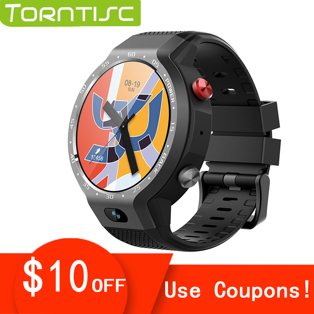 Torntisc NEW 1 39 inch Dual System 4G Smart Watch Android GPS WIFI Heart Rate 5MP