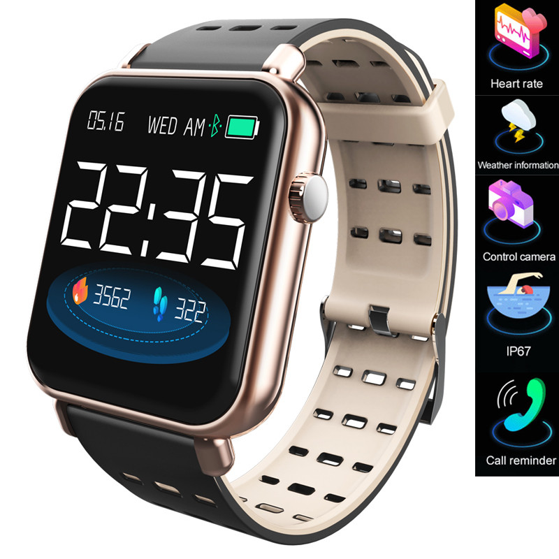 Y6pro Smart Watch Men Women Bluetooth Electronic Watch Pedometer Heart Rate Sports Running Clock Fitness Tracker New Smart Watch
