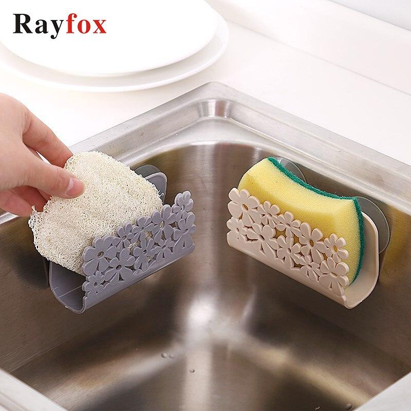 Приспособления для кухни, присоска для раковины, ванной комнаты, оригинальные многофункциональные инструменты для хранения мыла, удобные к...