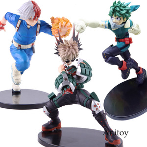 Image 1 - Anime Boku no Hero Academia My Hero Academia Katsuki Bakugo Izuku Middria Shoto Todorki Action Figure Collectibe Model Toy
