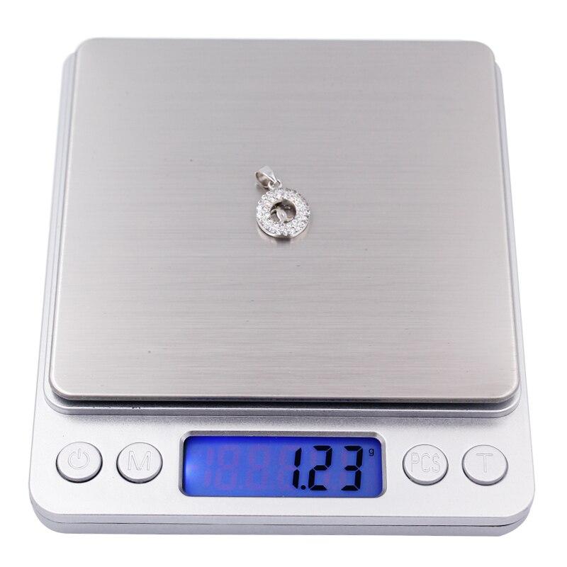 5pcs 500g x 0 01g Digital Kitchen Jewelry Scale Mini Electronic Pocket Case Postal Balance Weight