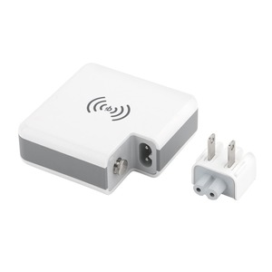 Image 4 - 3 ב 1 צ י אלחוטי מטען טעינת סוג C 2 USB נסיעות תקע כוח בנק עם דיגיטלי מסך עבור iPhone 8 Xs Max XR סמסונג VIVO