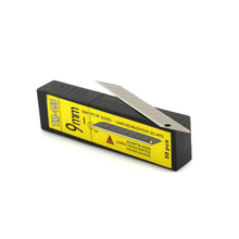 Carbon Steel Snap-off Utility Sharp Knife Replacement Blade 9mm 50-Blades/box 5boxes per pack whole sale