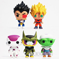 Funko Pop Dragon Ball Z Vinyl Figure Goku Vegeta Cell Piccolo Frieza Action Doll Super Saiyan Model Anime Dragonball Z Toy 35A