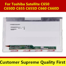 Free shipping 15.6 inch LCD Screen Replacement for Laptop Matrix display For Toshiba Satellite C650 C660 C660D L650