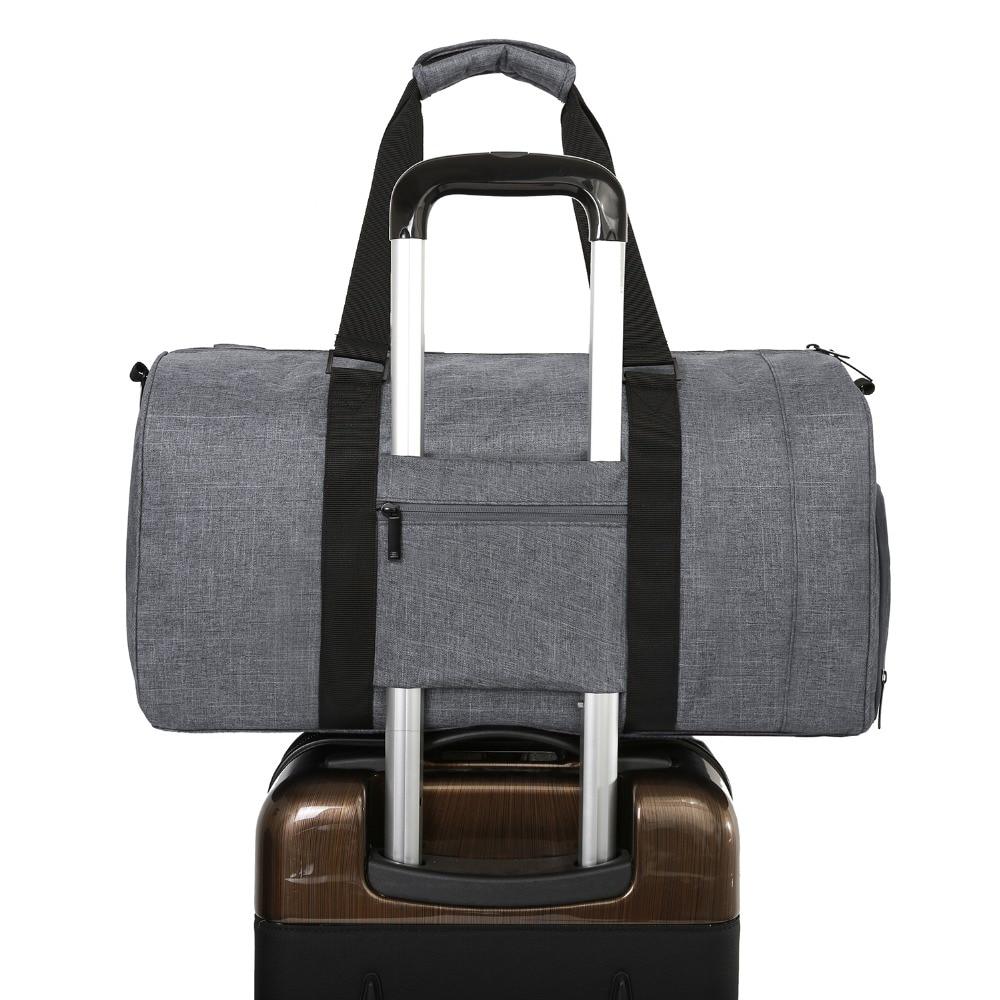 BAGSMART Män Resväska Stor Kapacitet Bär på Bagage Bag Nylon - Väskor för bagage och resor - Foto 5