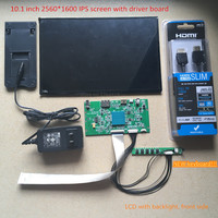 10 1 Inch 2560X1600 2k 1440p HD Screen Monitor IPS VVX10T025J00 DLP Projector LCD And Driver
