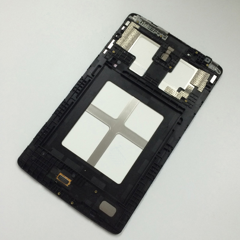 LCD Display Screen Panel Monitor Module + Touch Screen Digitizer Sensor Glass Assembly with frame for LG G Pad 8.0 V480 V490 for asus memo pad 7 me70c full lcd display screen panel monitor touch screen digitizer glass sensor assembly free shipping