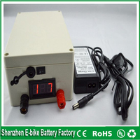 Rechargeable 12v 20ah Li Ion Battery 18650 Lithium Ion Battery Pack For Solar System LED Panel