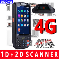Ip65 rugged waterproof handheld mobile phone pda1d barcode scanner android pda Portable Android wireless data terminal