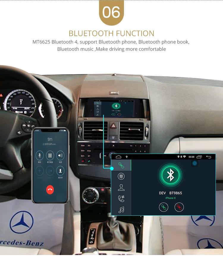 Navi reproductor Mercedes W204 9