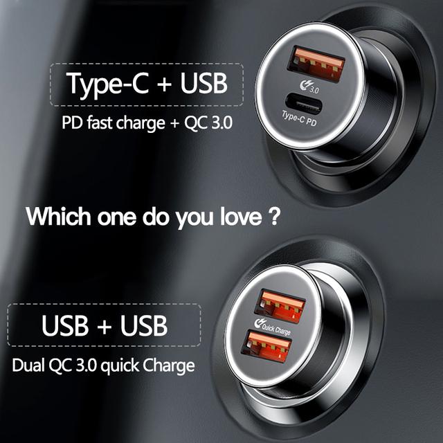 Dual USB Quick Charge QC 3.0