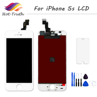 ET Super 1PCS LOT AAA Quality No Dead Pixel For IPhone5s LCD With Touch Screen Digitizer