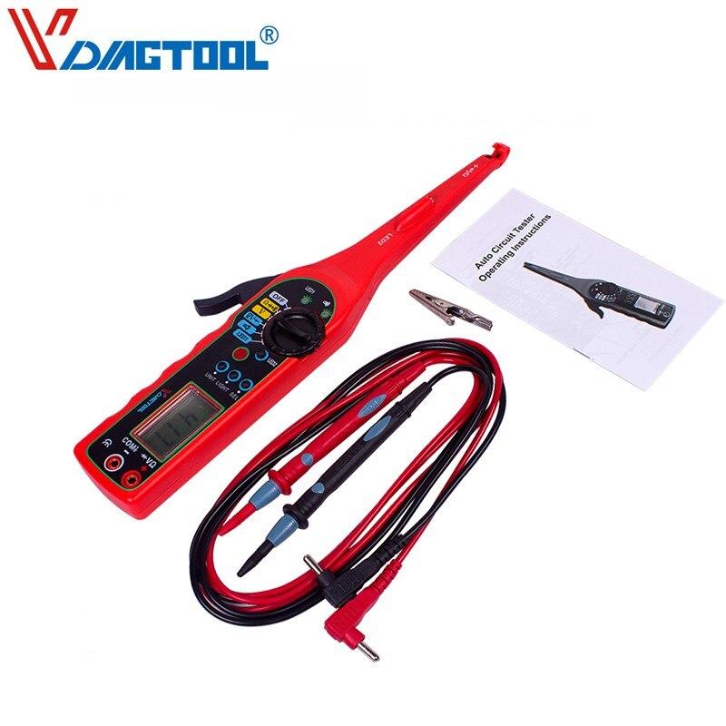 VDIAGTOOL Multi-function Auto Circuit Tester MS8211 Multimeter Lamp Car Repair Automotive Electrical Multimeter 0V-380V Voltage  цены