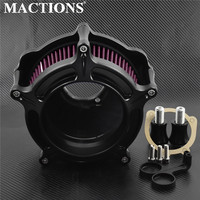 Motorcycle Air Cleaner Intake Air Filter For Harley XL Sportster 91 17 Dyna 2000 2017 Touring Road Glide 08 16 Touring 17 18