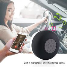 Portable Waterproof Bluetooth Speaker Wireless Car Handsfree Receive Call Music Suction Mic Mini Loudspeaker Box(China)