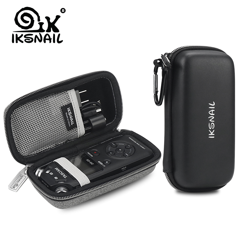 IKSNAIL Professional Protect Bag Storage Cover Carrying Recorder Case For TASCAM DR-05 Portable Digital Voice Recorders