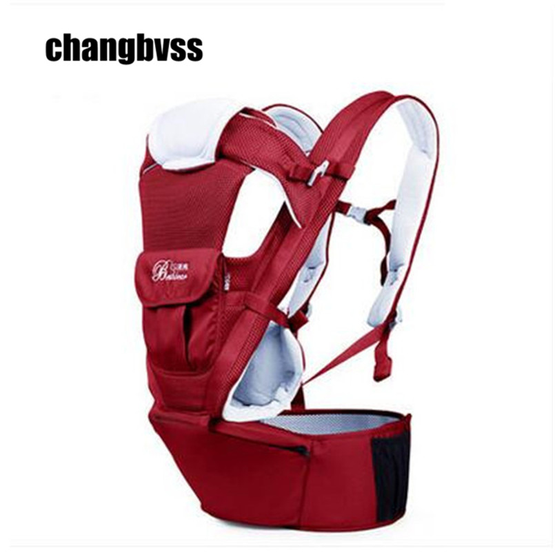 Mochila Assento Ergonomic Carrier Cotton Baby Backpack Infant Kangaroo Multifunctional Newborn Sling Wrap 3 Ways Activity 2016 four position 360 baby carrier multifunction breathable infant carrier backpack kid carriage toddler sling wrap suspenders