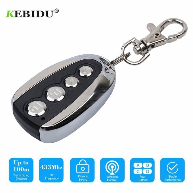 KEBIDU 433Mhz Rolling Code Remote Duplicator Garage Door Remote Control Opener Electric Face to Face Car Gate Transmitter