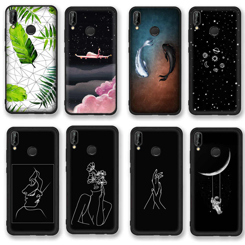 Cute Cartoon Painted Case for Honor 9 Light Matte Animal Patterned Case on Huawei Honor 8 9 10 Lite Soft Case for Honor 8 Pro