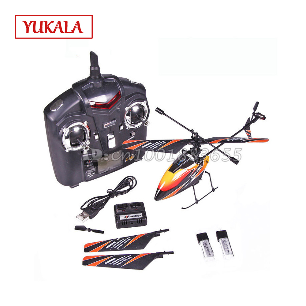 Upgrade 2.4G 4CH RC MINI Helicopter Outdoor V911 new version Plug With 2 Batteries for Toys Free shipping wholesale mjx toys new product f49 f649 single propellers 2 4g 4ch rc helicopter blue spare parts package free shipping