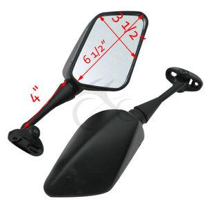 Image 3 - Black Side Achteruitkijkspiegels Voor Honda CBR600F4 1999 2000 CBR600F4I 2001 2005 Motorfiets Accessoires