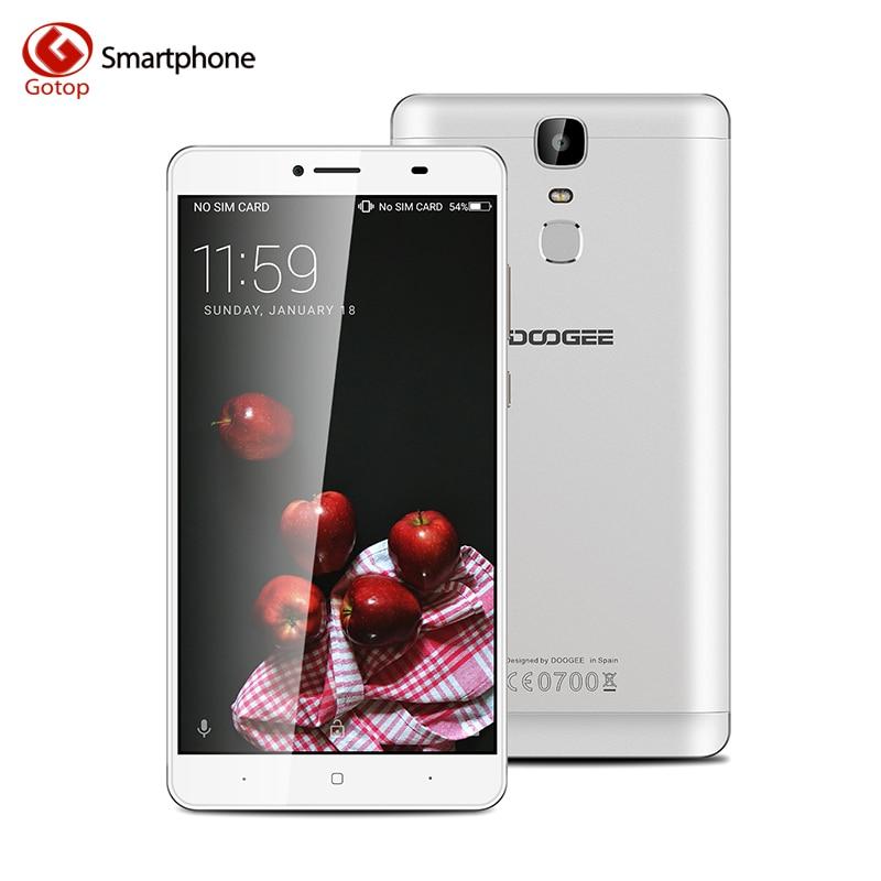 bilder für Ursprüngliche doogee y6 max 6,5 zoll smartphone android 6.0 mt6750 octa Core Handy 3 GB RAM 32 GB ROM 4G Handy