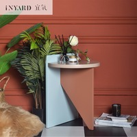 [InYard original] tricolor side table / Nordic simplicity, modern designer furniture, wooden coffee table, tea table